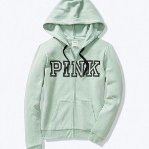 NWT VS Pink Everyday Lounge Perfect Full Zip